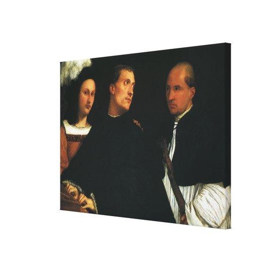 The Concert by Titian Vintage Renaissance Fine Art Canvas Print
