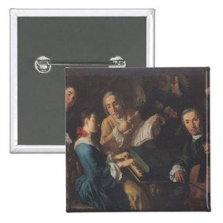 The Concert, c.1755 Button
