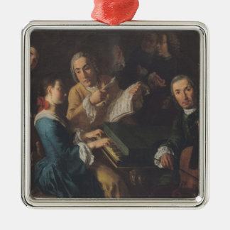 The Concert, c.1755 Metal Ornament