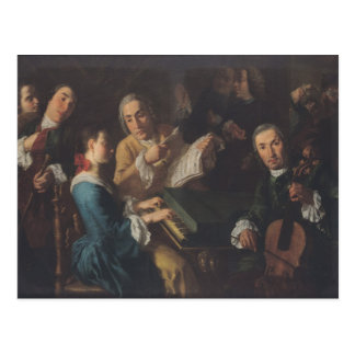 The Concert, c.1755 Postcard