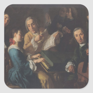 The Concert, c.1755 Square Sticker