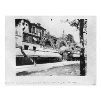 The Concert de Trianon in Paris Postcard