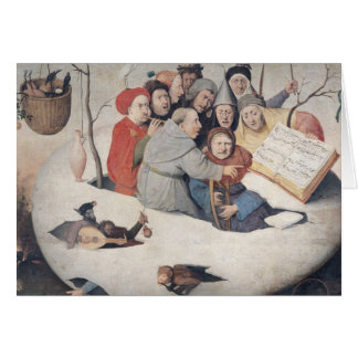 The Concert in the Egg Greeting Card