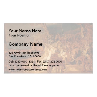 The Concert of the State by Rembrandt Business Card Templates
