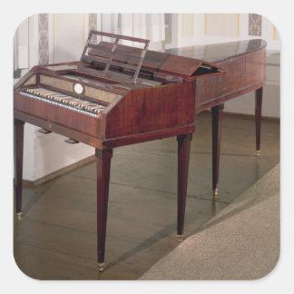 The concert piano of Franz Joseph Haydn Square Sticker