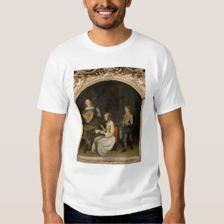 The Concert: Singer and Theorbo Player T-shirt