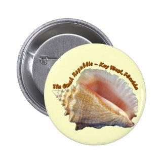 The Conch Republic Button