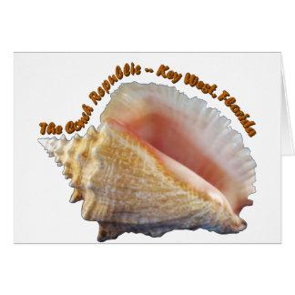 The Conch Republic Card