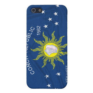 The Conch Republic Flag Case For iPhone SE/5/5s