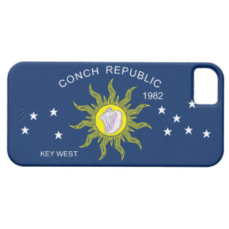 The Conch Republic Flag iPhone SE/5/5s Case