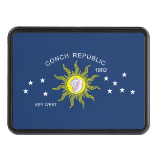 The Conch Republic Flag Hitch Cover