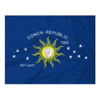 The Conch Republic Flag Postcard
