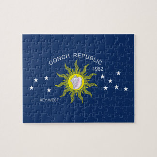 The Conch Republic Flag Puzzle