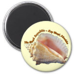 The Conch Republic Refrigerator Magnet