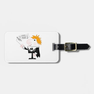 The Conductor Bag Tag