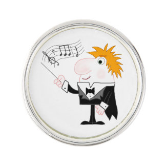 The Conductor Lapel Pin