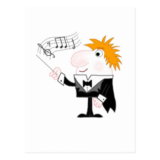 The Conductor Postcard