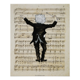 The Conductor (print) Poster
