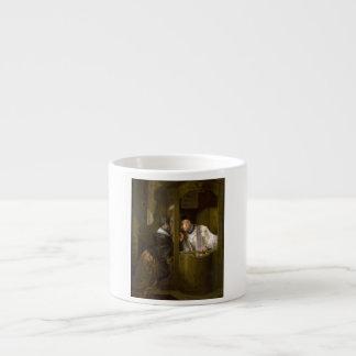 The Confession by Giuseppe Molteni 1838 Espresso Cup