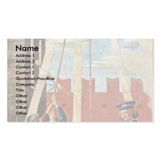 The Confession By Piero Della Francesca Business Cards