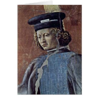 The Confession By Piero Della Francesca Greeting Card