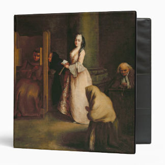 The Confession, c.1755 (oil on canvas) 3 Ring Binder