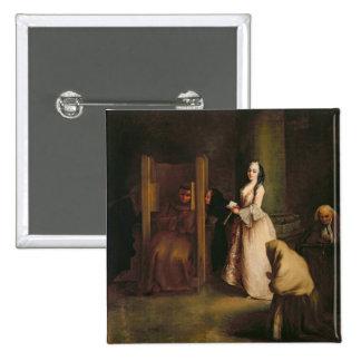 The Confession, c.1755 (oil on canvas) Button
