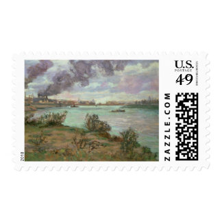 The Confluence of the Seine and the Marne at Ivry Postage