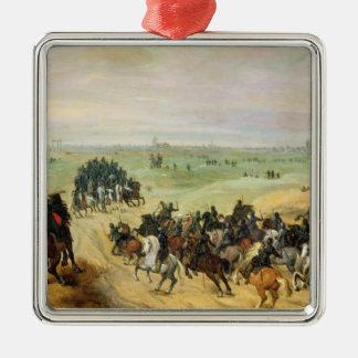 The Confrontation, 1600 Metal Ornament