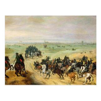 The Confrontation, 1600 Postcard