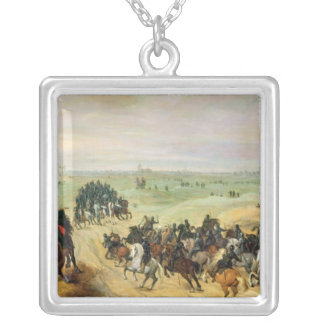 The Confrontation, 1600 Silver Plated Necklace