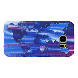 The Congregation World Map Samsung Galaxy S6 Cases