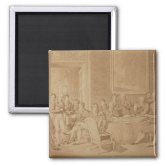The Congress of Vienna, 1815 2 Inch Square Magnet