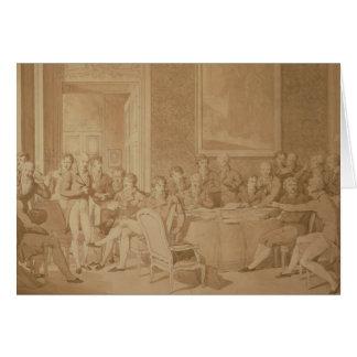 The Congress of Vienna, 1815 Card