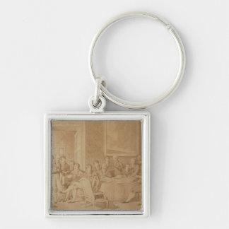 The Congress of Vienna, 1815 Keychain