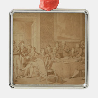 The Congress of Vienna, 1815 Metal Ornament