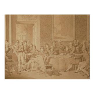 The Congress of Vienna, 1815 Postcard