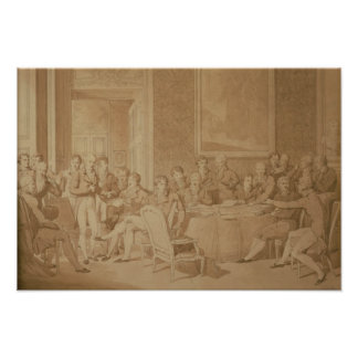 The Congress of Vienna, 1815 Poster