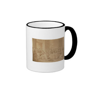 The Congress of Vienna, 1815 Ringer Mug