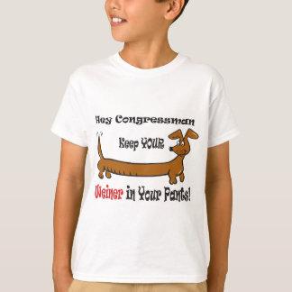 The Congressmans Weiner T-Shirt