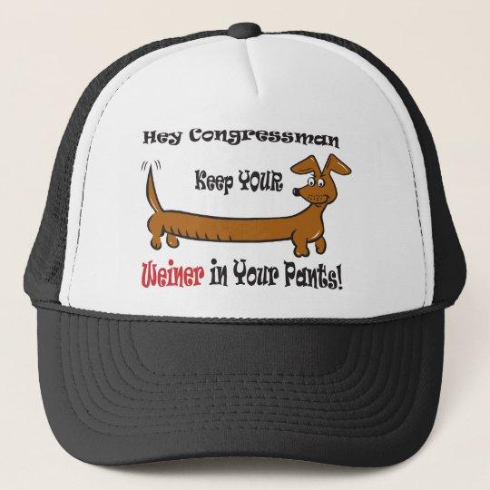 The Congressmans Weiner Trucker Hat