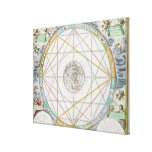 The Conjunction of the Planets Stretched Canvas Prints