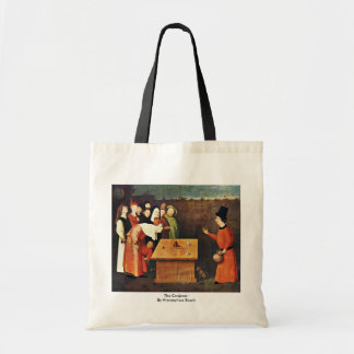 The Conjurer. By Hieronymus Bosch Tote Bags