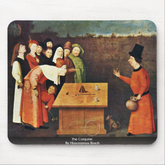 The Conjurer. By Hieronymus Bosch Mouse Pad