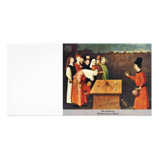 The Conjurer. By Hieronymus Bosch Photo Card Template