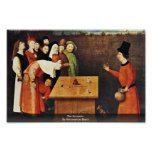The Conjurer. By Hieronymus Bosch Poster