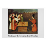The Conjurer By Hieronymus Bosch Workshop Posters