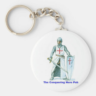 The Conquering Hero Pub Keychain