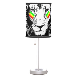 The Conquering Lion Table Lamp