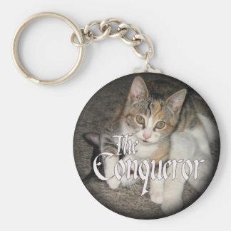 """""""The Conqueror"""" Kitten Key Chain"""